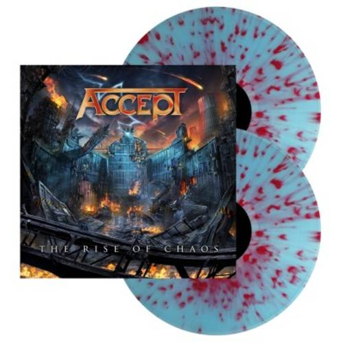 The Rise Of Chaos [Indie Exclusive Limited Edition Electric Blue/Red Splatter 2LP]