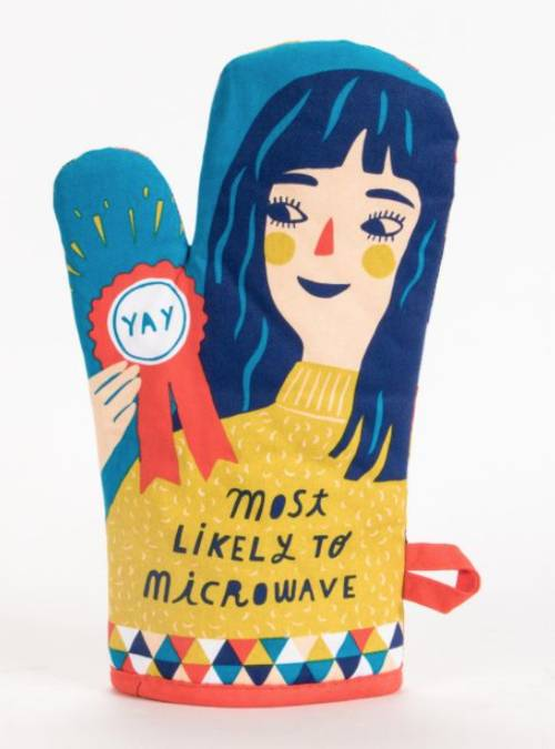 Oven Mitt - Likely To Microwave Oven Mitt