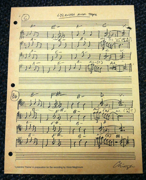 CHRISTOPHER OWENS - Free Sheet Music