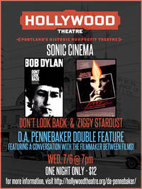 D.A. Pennebaker Double Feature at Hollywood Theatre