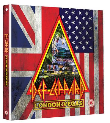 London to Vegas [Limited Edition Deluxe 2 DVD 4 CD]