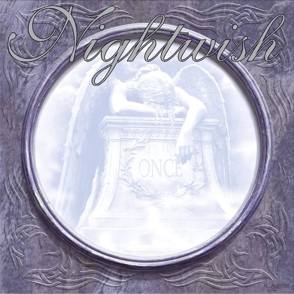 Nightwish - Once [Limited Edition White W/Grey Splatter LP]
