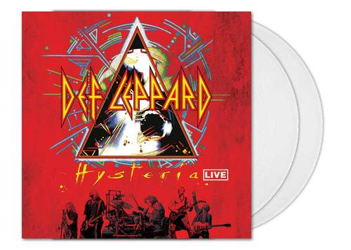 Hysteria Live [Limited Edition Clear 2LP]