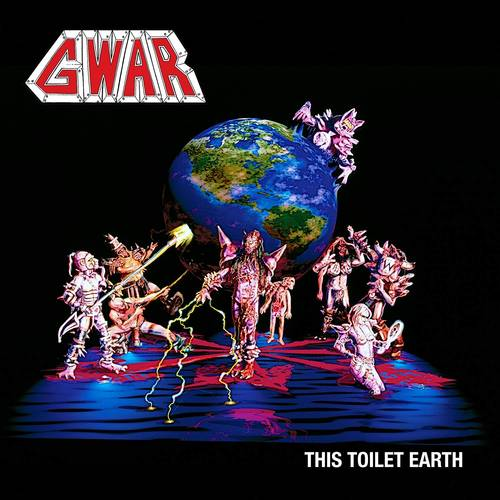 This Toilet Earth [Limited Edition Red & Black 50/50 Split Colored LP]