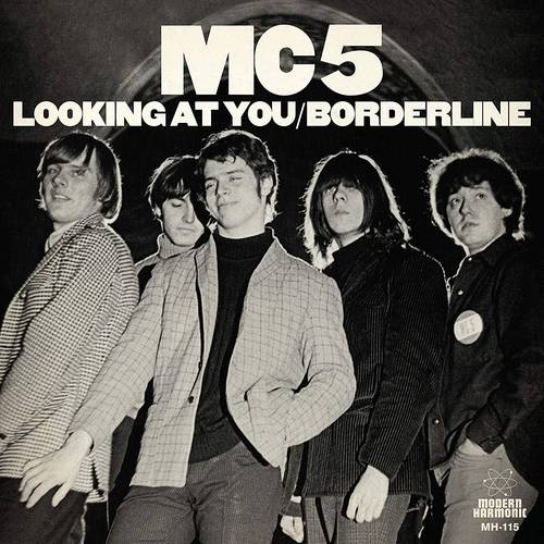 Looking At You / Borderline [White Vinyl Single]
