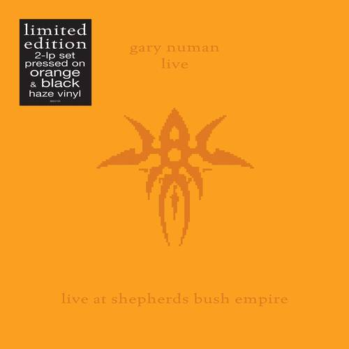 Gary Numan - Live At Shepherds Bush Empire [Orange/Black Haze 2 LP]