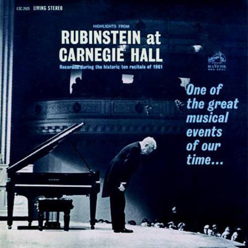 Rubinstein - Highlights From Rubinstein at Carnegie Hall