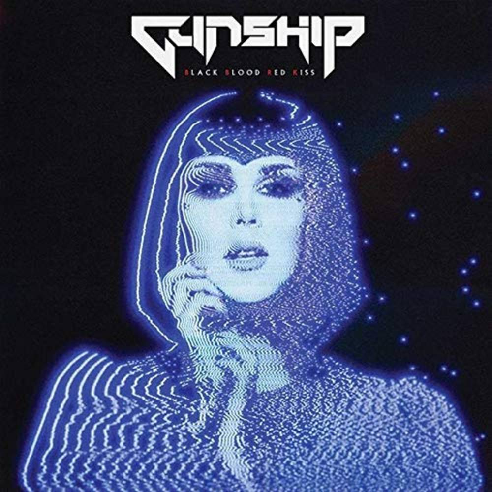 Gunship - Black Blood Red Kiss [Limited Edition White w/ Red Splatter Vinyl Single]
