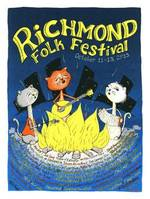 2013 Richmond Folk Festival poster