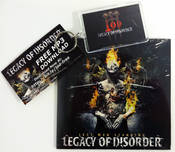 LEGACY OF DISORDER - Free CD and Keychain