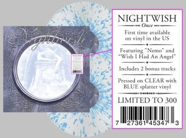 Once [Indie Exclusive Limited Edition Clear / Blue Splatter LP]