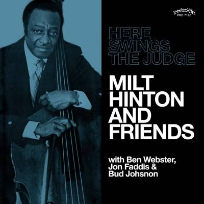 Milt Hinton And Friends - Here Swings The Judge [Indie Exclusive Limited Edition White LP]