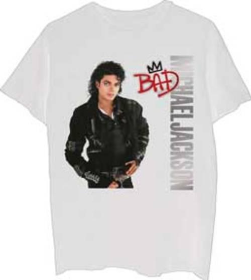 Michael Jackson - Bad Silver Logo (S)