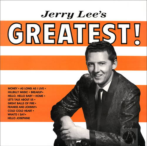 Jerry Lee's Greatest [Indie Exclusive Limited Edition Orange & White LP]