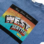 Easy Street Records - Greetings From West Seattle T-Shirt Medium