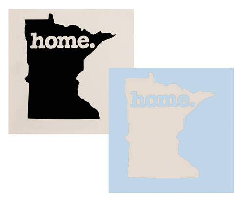 Mn Home Decal