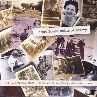 Robert Pound: Relics Of Memory