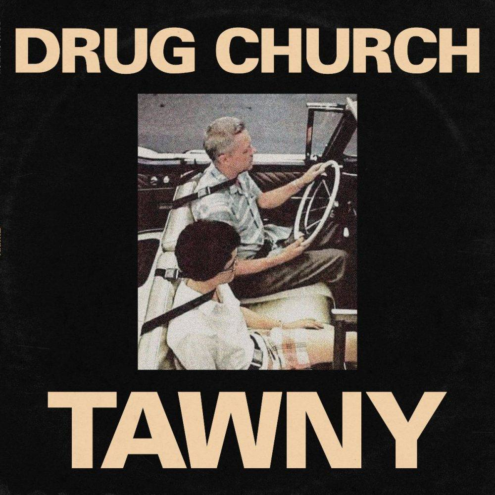 Drug Church - TAWNY EP [Indie Exclusive Limited Edition Black in Beer with Heavy White Splatter Vinyl]