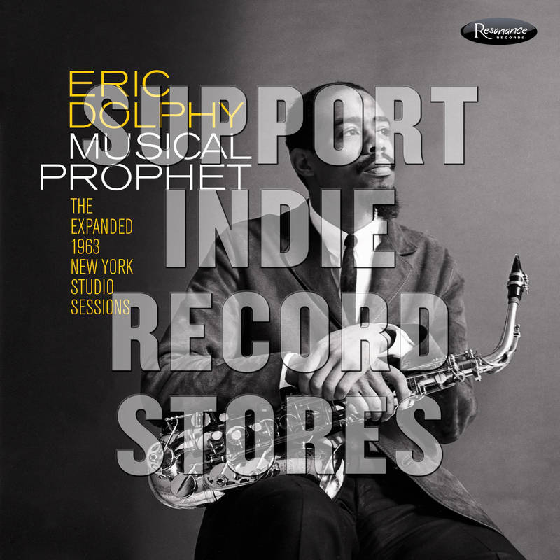 Eric Dolphy Musical Prophet: The Expanded N.Y. Studio Sessions (1962 1963)