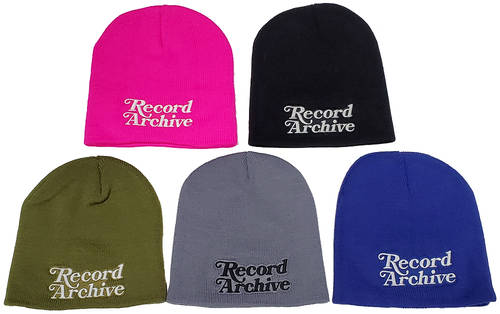 Record Archive - Beanie [black]
