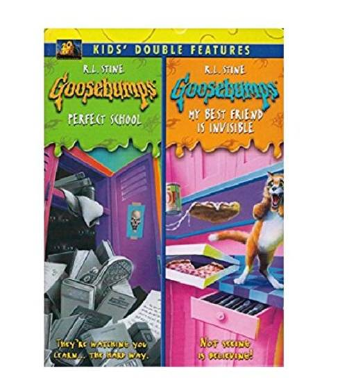 Goosebumps: Perfect School / Goosebumps: My Best Friend Is Invisible Kids Double Features