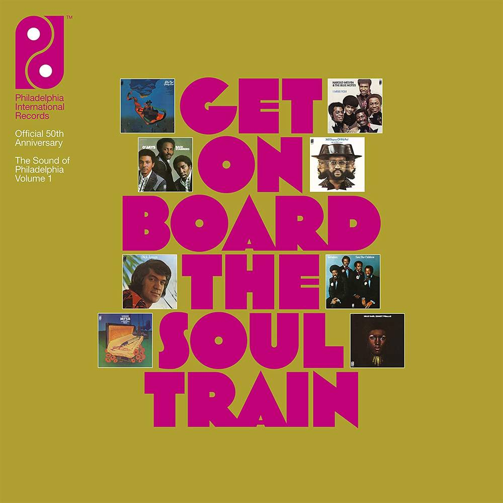 Various Artists - Get On Board The Soul Train - The Sound Of Philadelphia International Records Volume 1 [8CD Book Set with Bonus 12in Single]