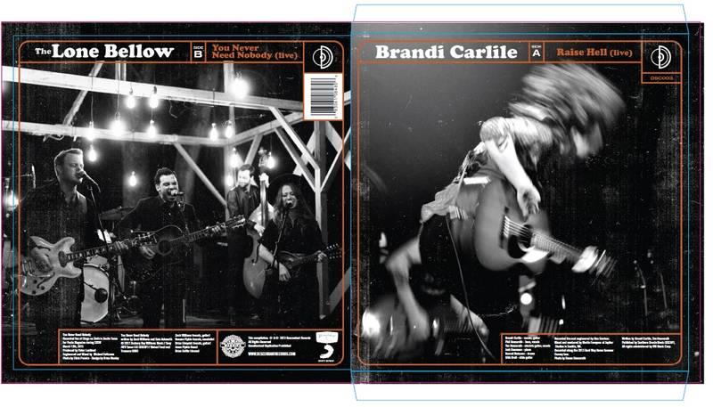Brandi Carlile The Lone Bellow Live Split
