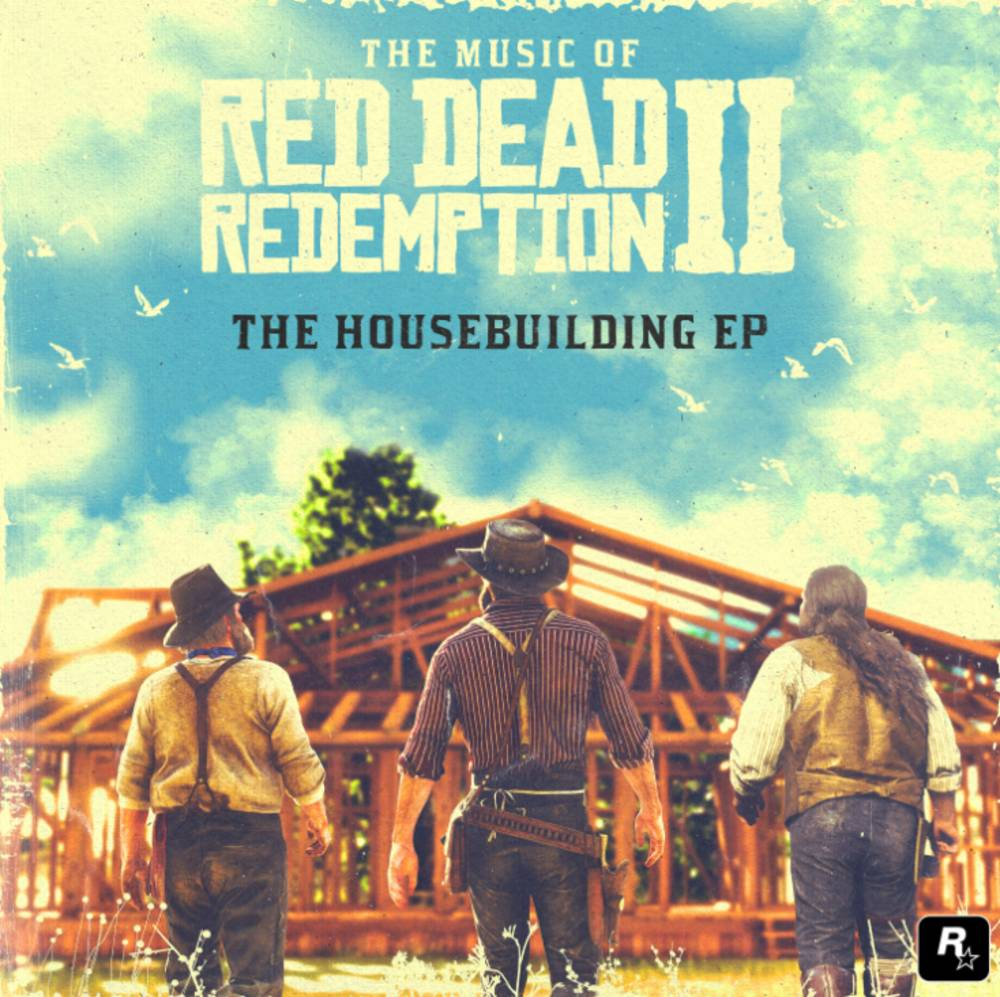 David Ferguson and Matt Sweeney - The Music Of Red Dead Redemption 2: The Housebuilding EP [Sky Blue 10in Vinyl]