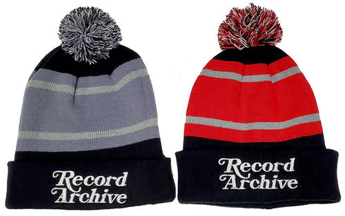 Record Archive - Winter hat pom [red]