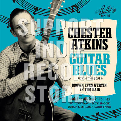 Chet Atkins - Guitar Blues / Brown Eyes A Cryin' In The Rain