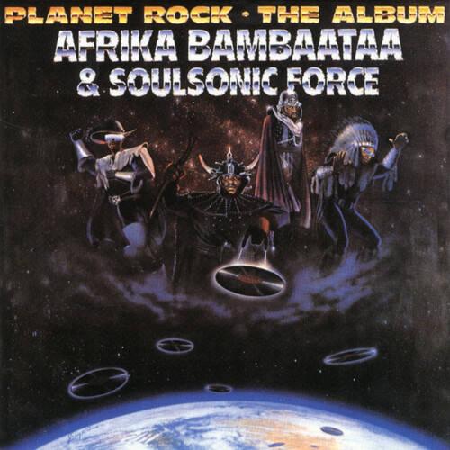 Afrika Bambaataa - Planet Rock... The Album [3 Color Splatter LP]