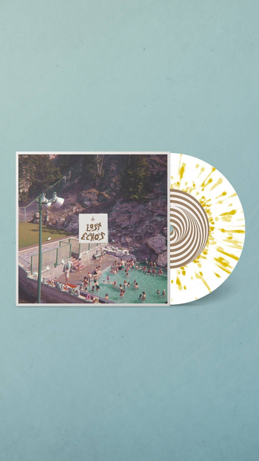 Ghost Woman - Lost Echo's [Indie Exclusive Limited Edition White/Gold Splatter 7in Single]
