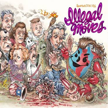 Illegal Moves [Blue / Red LP]