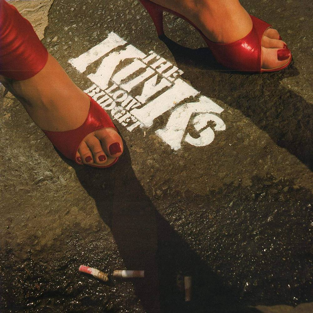 The Kinks - Low Budget [Limited Edition 180 Gram Red Audiophile LP]