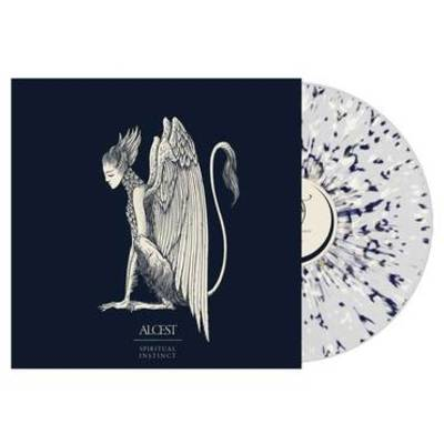 Alcest - Spiritual Instinct [Indie Exclusive Limited Edition Blue/Bone Splatter LP]