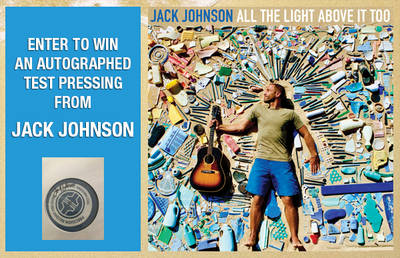 ENTER TO WIN AN AUTOGRAPHED TEST PRESSING FROM JACK JOHNSON