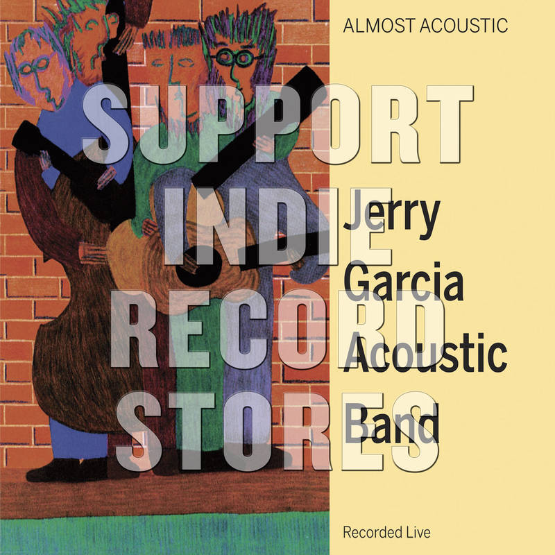 Jerry Garcia Acoustic Band Almost Acoustic
