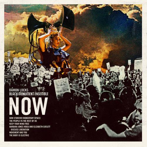 Damon Locks - Black Monument Ensemble - NOW [Indie Exclusive Limited Edition Crimson & Black LP]