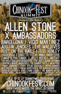 Win Tickets To Chinook Fest With Allen Stone, X Ambassadors & More!