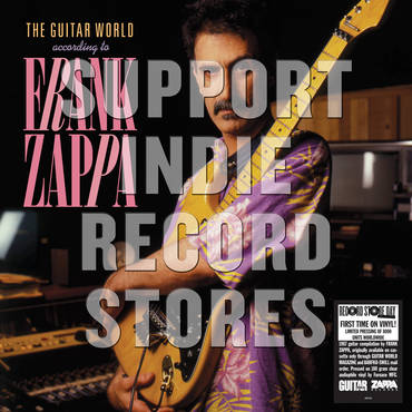 THE GUITAR WORLD ACCORDING TO FRANK ZAPPA  [RSD 2019]