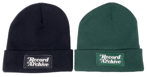 Record Archive - Winter hat cuff [black]