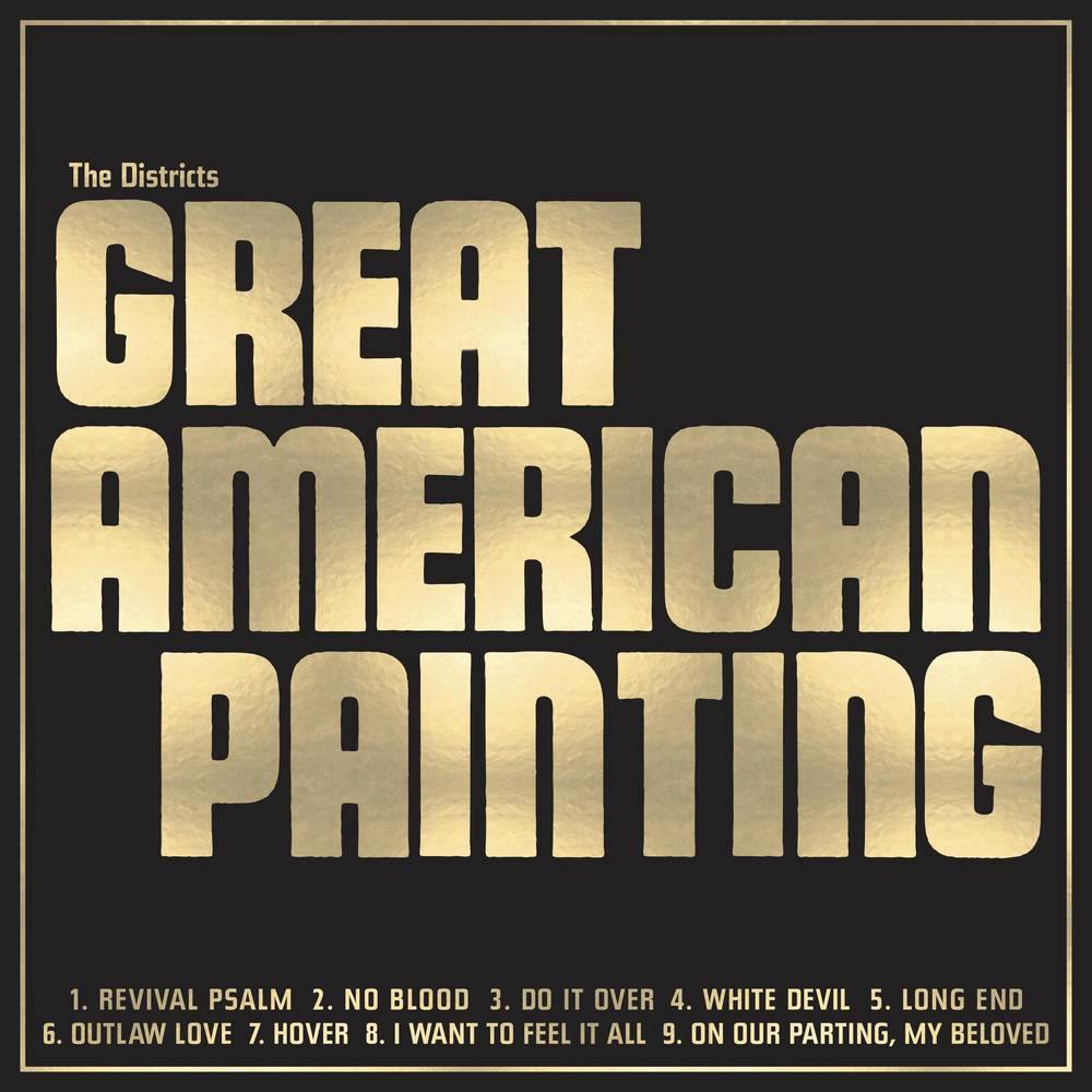 The Districts - Great American Painting [Indie Exclusive Limited Edition Gold LP]
