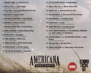 Americana Music Month Sampler 2019