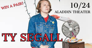 Ty Segall at at the Aladdin Theater 10/24!!