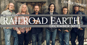 Railroad Earth at the Roseland 12/30!