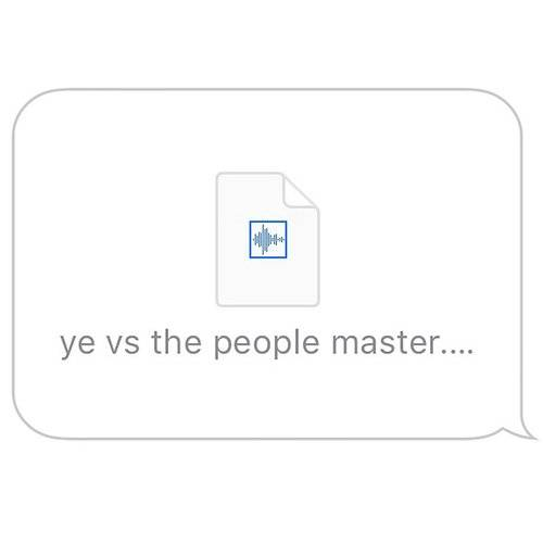 Ye Vs. The People (Starring Ti As The People) - Single