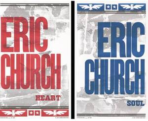 ERIC CHURCH - Free Hatch Print