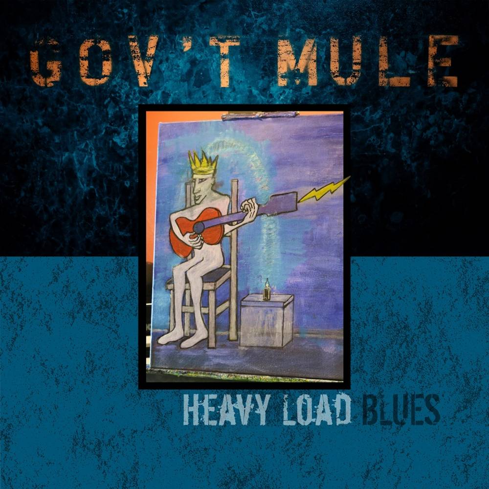 Gov't Mule - Heavy Load Blues [Indie Exclusive Limited Edition Blue Smoke 2LP]