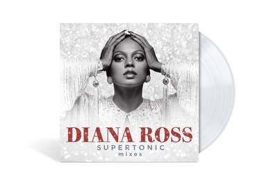 Diana Ross - Supertonic: Mixes [Limited Edition Crystal Clear LP]