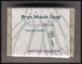 Natural Handmade Oatmeal Tangerine Soap - Bryn Mawer Soap